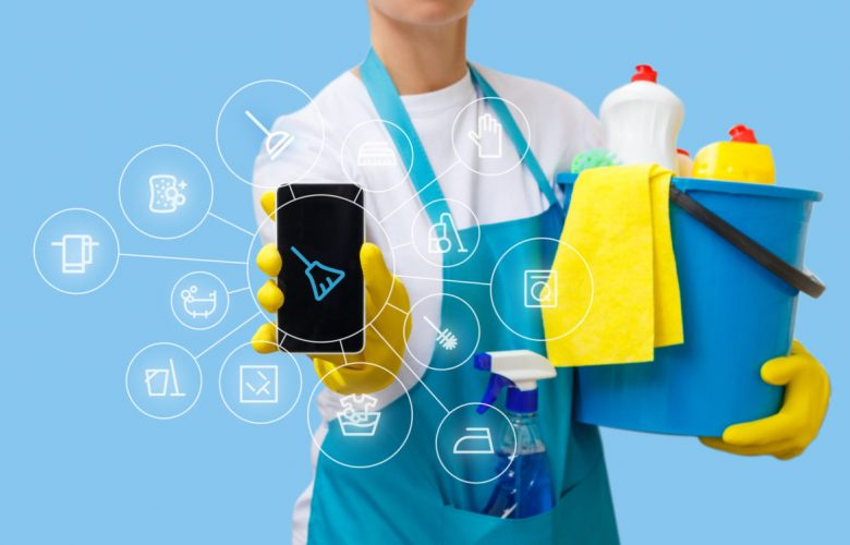 Application of housekeeping service in the mobile phone .